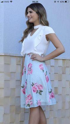 Waist Skirt, High Waisted Skirt, Floral, Skirts, Dresses, Fashion, Outfits, Vestidos, September