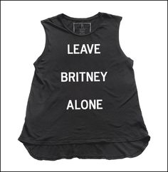 Britney / Muscle Tee | Hips and Hair
