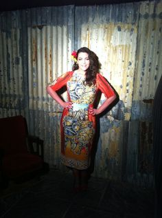 April 30, 2013 Hello Magazine Fashion Shoot Dress: Dolce & Gabbana (LOVE IT!!)