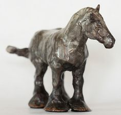 This delightful cast bronze sculpture of a miniature standing Clydesdale is one of a set of four mini Clydesdales available.     There is a discounted price for the entire set of Miniature Clydesdales seen in the above photo! (see drop down menu for variations)    To see more in the set follow the link bellow:  https://www.etsy.com/ca/listing/214069384/holiday-gift-idea-for-a-small-hand-cast?ref=related-3    Each sculpture is hand cast bronze using the lost wax method. The edition size for…