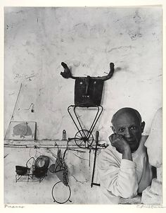 Pablo Picasso by Arold Newman