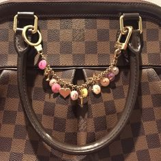 Authentic Louis Vuitton Bag Charm EUC Authentic Louis Vuitton Charm  Can be used as a bag charm or keychain In used condition, shows wear  All charms in great condition NO charms missing  Each charm brings color to your wardrobe   Comes with box, dustbag Louis Vuitton Other