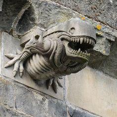 National Cathedral Alien gargoyle
