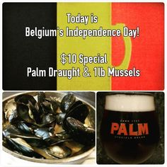 #sangria71 #celebrate #todayonly #belgiumindependenceday #palmbeer #mussels #10dollarspecial