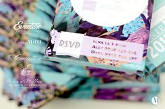""" Violet Affair "" Colectie de Invitatii de Nunta tip Ciocolata | Graphic Designer Corina Matei & Toni Malloni, Event Designer Shop online www.c-store.ro wow@c-store.ro office@eventure.com.ro +40 723 701 348 +40 745 069 832 Referinte evenimente www.eventure.com.ro www.tonimalloni.ro www.bprint.ro www.eventina.ro"