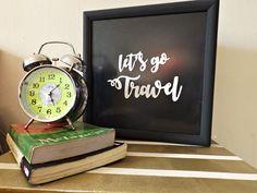 DIY Cofre de viagem
