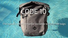 Waterproof, Theft-Proof, Tech-Ready - Code 10 Backpacks are the world's most versatile, functional waterproof bags.
