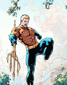 Aquaman in Swamp Thing #31