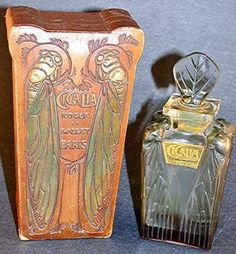 Cigalia, Roger and Gallet  Perfume Bottle 1910, Lalique    I dream of having this in my antique perfume bottle in my collection!