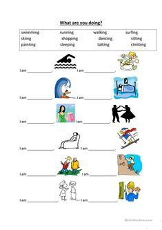 worksheet - Free ESL printable worksheets made by teachers English Grammar Worksheets, 1st Grade Worksheets, Phonics Worksheets, Grammar Lessons, Vocabulary Activities, Teaching English Grammar, Printable Worksheets, Kids English, English Words