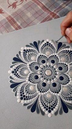Mandala Canvas, Mandala Artwork, Mandala Dots, Mandala Painting, Mandala Pattern, Rangoli Painting, Dot Painting Tools, Dot Art Painting, Painting Patterns
