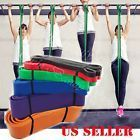 Sport Fitness Equipment Resistance Bands Tube Workout Exercise Yoga Training D2 #ad