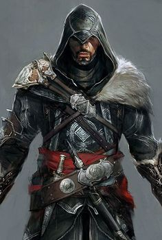 View an image titled 'Ezio Concept Art' in our Assassin's Creed: Revelations art gallery featuring official character designs, concept art, and promo pictures. Assasins Cred, Arte Assassins Creed, Assassins Creed Tattoo, Assassin's Creed Wallpaper, All Assassin's Creed, Assessin Creed, Connor Kenway, Dragon Age, Character Art
