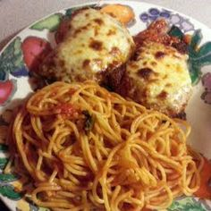 homemade chicken parm with amazing homemade red sauce
