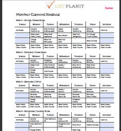 Restaurant Kitchen Organization Ideas commercial kitchen cleaning schedule template - google search
