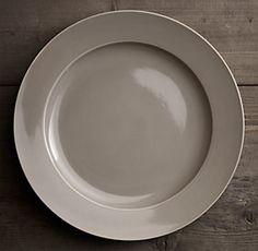 Chinese Porcelain Grand-Rimmed Dinnerware Fog | Restoration Hardware & Chinese Porcelain Grand-Rimmed Dinnerware Fog | Restoration Hardware ...