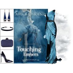 Book Look: Touching Embers (Touch #3) By Airicka Phoenix by xmikky on Polyvore featuring Casadei, Coast, Miriam Salat and DKNY