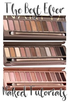 The Best Ever Naked Palette Tutorials!