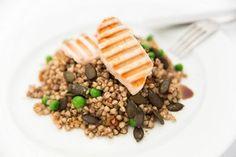 Pohankové rizoto Polenta, Quinoa, Beef, Cheese, Food, Meat, Essen, Meals, Yemek