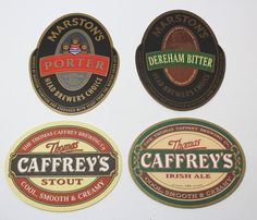 Collectable beer coasters: Set of 6 Marston's Bitter coasters (UK) Bud Light Beer, Brewers Yeast, Beer Coasters, Brewing Co, Ale, Cool Stuff, Store, Ebay, Storage