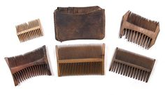 These nit combs were found on the 16th Century ship the Mary Rose.