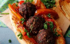 Walnuts, Baby Bella mushrooms, savory spices, and fresh parsley are mixed with fresh bread crumbs to create these amazing meatballs.
