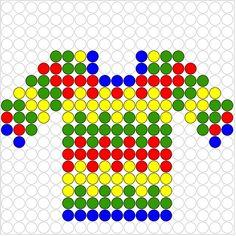 Shirt perler bead pattern