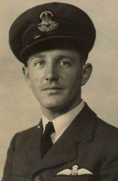 Lancaster pilot, Frank McEgan. RAAF