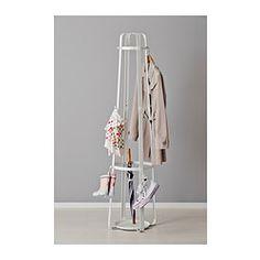 ENUDDEN Perchero, blanco 170 cm € 24,99 / ud Referencia artículo: 202.469.06