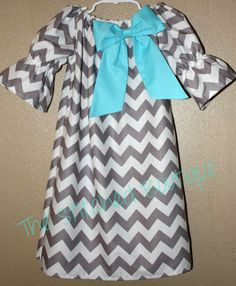 @Whitney Couey Toddler Chevron Peasant Dress 6Months5T by TheStitchedBoutique, $25.00