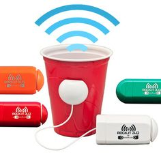 WOA! This thing turns anything into a speaker!   Fab.com | The World Is Your Speaker
