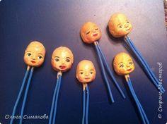 Мастер-класс Материалы и инструменты Моделирование конструирование Молд для кукольного лица Глина фото 14