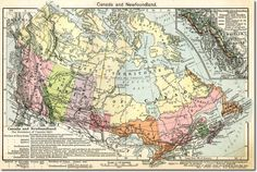Federation of Canada Map 1867