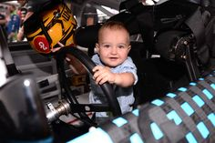 At-track photos: Sunday, Charlotte: Monday, May 30, 2016 - Brexton Busch is ready to log some laps for dad, Kyle Busch.