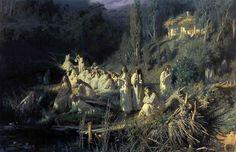 www.school.edu.ru :: Русалки (Майская ночь). 1871. ГТГ