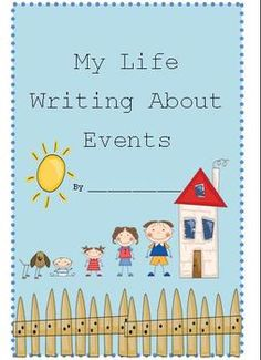 This is a writing activity geared towards first grade students.  The purpose of this activity is to write about life events.  There are 7 pages included in this packet.  The pages included are:1. Cover Page2. A Brainstorming Page:  Asks the kids to circle the events listed that they have accomplished in their lives to help them to begin coming up with ideas to write about.3.