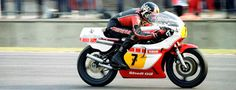 God on a motorbike - Barry Sheene #7