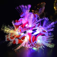 60 LED Multi-color Santa Claus Pendant Fiber Optic String Light Christmas Party Lights, with Tail Plug, Used for Party, Room, Home, Wedding, Easter Decoration Christmas String Lights, Party Lights, Fiber Optic, Merry Christmas, Christmas Decorations, Santa, Easter, Led, Pendant