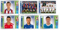 Official Panini UEFA Champions League 2014-15 Sticker Album | CardzReview