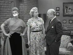 I Love Lucy - The Gossip .... Ricky and Fred bet Lucy and Ethel that they can keep from gossiping longer than their wives.  /Today's episode, 6/13/14