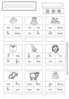 Worksheets 415527503117475516 - mots 2 – la maternelle de Camille Source by Learning French For Kids, Teaching French, Working With Children, Kids Learning, French Language Lessons, French Lessons, French Worksheets, Worksheets For Kids, French Education