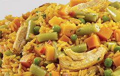Arroz con Pollo  (plato típico costarricense)