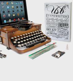 USB Typewriter Conversion Kit by USB Typewriter on Scoutmob Shoppe