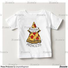 Pizza Princess Infant T-shirt