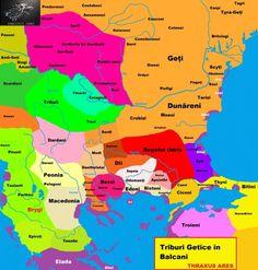 ACUM 2000 DE ANI NU EXISTA DACIA ÎN CARPAȚI ȘI NICI DACII ÎNCHIPUIȚI DE ROXIN | Vatra Stră-Rumînă Map, Geography, Location Map, Maps