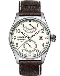 A high quality watch from the Spitzbergen Series with mechanic self-winding movement and power reserve indicator (Made by Citizen, modified by POINT tec, 26 Steine) Now in Your Original Junkers Shop. Bb Shop, Jewel Hands, Sapphire Band, Affordable Watches, Bracelet Cuir, Chronograph, Omega Watch, Watches For Men, Men's Watches