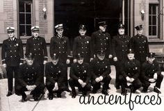 This group of firefighters from Chicago, Illinois taken in 1955 are showing off some very classy uniforms.