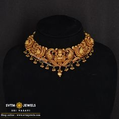 Gold jewelry Necklace Set - - - Antique Gold jewelry Long - Silver And Rose Gold jewelry - Gold Jewelry Simple, Gold Jewellery, Temple Jewellery, Stylish Jewelry, Gold Bangles, Gold Necklace, Short Necklace, Antique Necklace, Chocker Necklace
