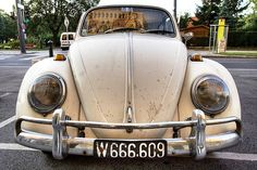 vintage 65´VW Beetle,  .....i saw this car, ident plates, yesterday, 22.01.2014!