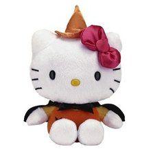 """Hello Kitty Halloween 6"""" Plush"""